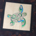 Australiana cushion cover - Turtle