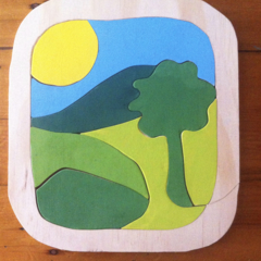 Tree Wooden Puzzle