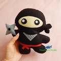 Ninja / Ninja Magnet / Ninja Home Decor / Ninja Plush / Ninja Toy