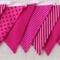 Bunting - Pink dots and stripes
