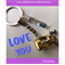 LOVE YOU- FISHING REEL keyring