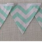 Bunting - Mint and white - POSTAGE IN AUST INCLUDED IN THE PRICE