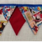Bunting - Superman/Superheroes - POSTAGE IN AUST INCLUDED IN THE PRICE