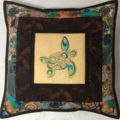 Australiana cushion cover - Turtle