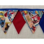 Bunting - Superman/Superheroes - POSTAGE IN