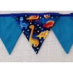 Bunting - Dinosaur Print - POSTAGE IN AUST INCLUDED IN THE PRICE