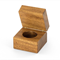 Wooden Ring Box made from Blackwood. Great for Wedding Rings / Engagement Rings