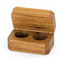 Wooden Double Ring Box made from Blackwood