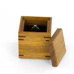 Wooden Ring-Bearer Box made from Australian hardwoods
