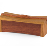Asian Inspired Keepsake Box made from Spotted Gum and Jarrah