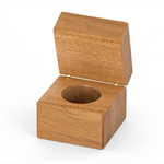 Wooden Ring Box made from Queensland Maple.