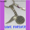LOVE FOREVER- A piece of my heart lives in heaven keyring