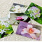 Floral Art postcards, Flower Photography Flat Cards, Flat Greeting Cards, (5)