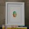 Cactus Illustration Print - Framed 4x6