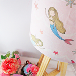 Wooden Table Lamp with 