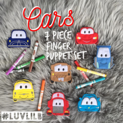 Cars Finger Puppet Set (7 to choose from!)