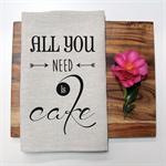 ALL YOU NEED Linen Tea Towel in Oatmeal