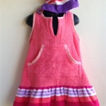 Girls Size 3 Beach Towel Dress
