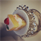 Strawberry Piece of Cake Ring