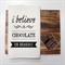 CHOCOLATE Linen Tea Towel in Off White
