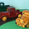Handcrafted Wooden Toy 1928 Model 'A' Ford Pickup