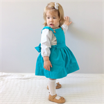 Teal Pinafore Pinny