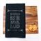 BUTTER Linen Tea Towel in Black