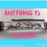 ANYTHING IS POSSIBLE pen