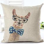 RubeyLiza - Alpaca - Alpaca Filled Linen Cushions 45 x 45 cm. 6 Designs