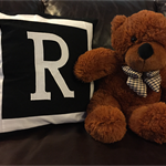 "Rubey Liza - Alpaca Filled ""Honey Bear"" Teddy Bear - Unique to Storybook Alpacas"