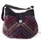 Velvet and Satin Handbag