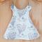 Pinafore Dress - Reversible - Hello My Deer - Baby Girl Dress - Dandelions