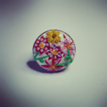 Floral Embroidery Ring