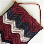 Chevron Wall Hanging | Tribal Stripe | Home Decor | Hand Crochet | Ready to Post