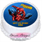 Spiderman Round Edible Cake Topper - PRE-CUT