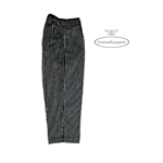 Pinstriped black pants, Girls formal trousers, Special Occasion, Toddler girl s3