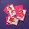 Set of Three Frangipani Cards