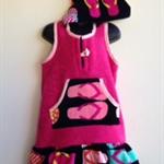 Girls Size 4 Beach Towel Dress