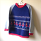 Size 4 navy toy soldier fleece jumper