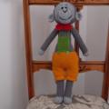 Grayson: hand crochet toy giraffe: Unisex, washable, soft, cuddly, baby shower