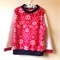 Size 3 Nordic print micro fleece jumper