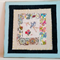 Blue bird embroidery