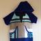 Size 4 Boys Beach Towel Shirt