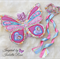 Fabric Butterfly Wings & Dancing Ribbons - Custom Designed