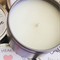 BRIDESMAID CANDLE | Boho Bride Tribe Label | Soy Wax | Petite 2oz Tin | Silver
