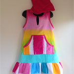 Girls Size 6 Beach Towel Dress