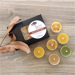 DISCOVERY - Beeswax - Bush Tea Lights - Mixed Box