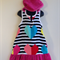 Girls Size 6 Beach Towel Dress/Pool Cover up