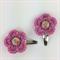 Girls Crochet Hair Clip | Accessory | Pair of Flower Hairclips | Hand Crocheted