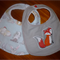 Baby Boys Bib with Snap Closure